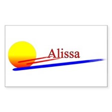 Alissa Rectangle Decal