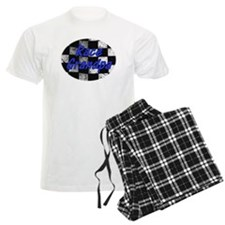 Race Grandpa checkered Flag Pajamas