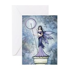 Blue Lumina Fairy Fantasy Art Greeting Cards
