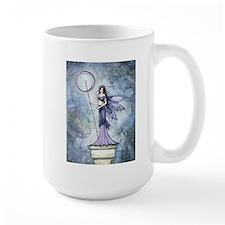 Blue Lumina Fairy Fantasy Art Mugs