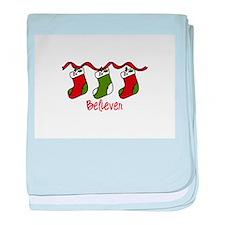 Believer baby blanket