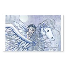 Carry Me Away Fairy and Pegasus Art Decal