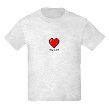Love My Dad 8-Bit T-Shirt
