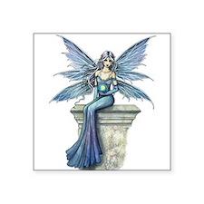 Blue Celeste Fairy Fantasy Art Sticker