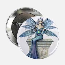 "Blue Celeste Fairy Fantasy Art 2.25"" Button"