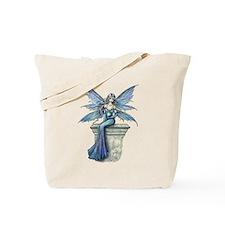 Blue Celeste Fairy Fantasy Art Tote Bag
