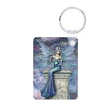 Blue Celeste Mystical Fairy Art Keychains