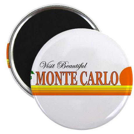 Visit Beautiful Monte Carlo Magnet