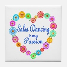 Salsa Dancing Passion Tile Coaster