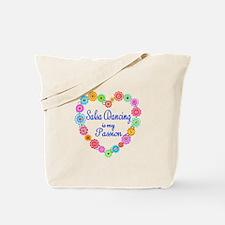 Salsa Dancing Passion Tote Bag