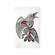 Raven Spirit 3'x5' Area Rug