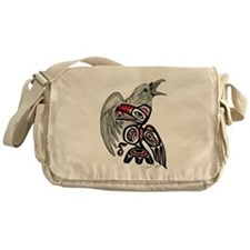 Raven Spirit Messenger Bag