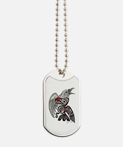 Raven Spirit Dog Tags