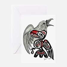 Raven Spirit Greeting Cards