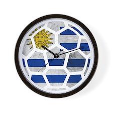 Uruguay World Cup 2014 Wall Clock