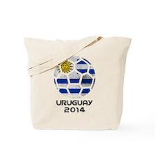 Uruguay World Cup 2014 Tote Bag