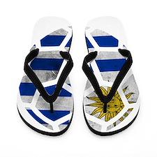 Uruguay World Cup 2014 Flip Flops