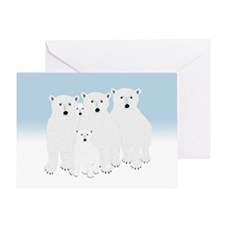 Polar Bears Greeting Cards