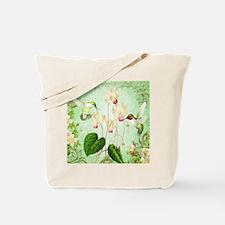 Modern Vintage French Hummingbirds Tote Bag