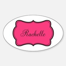 Personalizable Pink and Black Decal