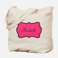 Personalizable Pink and Black Tote Bag