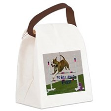 Pit Bull 25 Canvas Lunch Bag