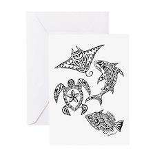 Hawaiian Wildlife Greeting Cards