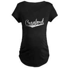Cranford, Retro, Maternity T-Shirt
