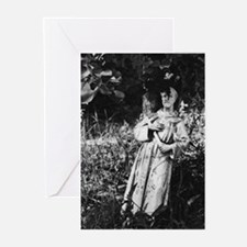 St. Francis (bw photography) Greeting Cards (Packa