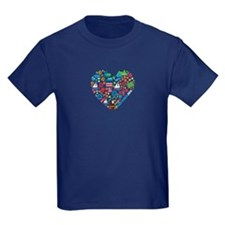 Costa Rica World Cup 2014 Heart T