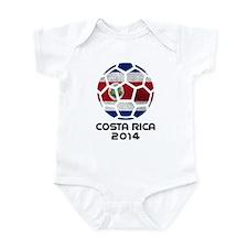 Costa Rica World Cup 2014 Infant Bodysuit
