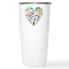 Costa Rica World Cup 20 Travel Mug