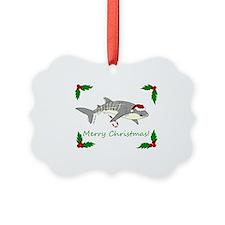 Xmas Whale Shark Ornament