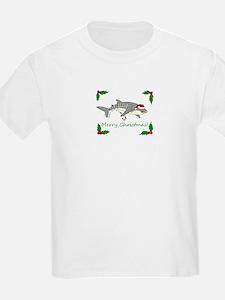 xmas whale shark T-Shirt