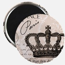 Modern Vintage French crown Magnets