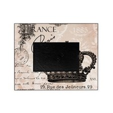 Modern Vintage French crown Picture Frame