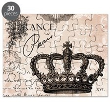 Modern Vintage French crown Puzzle