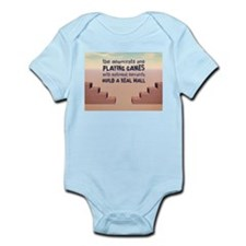 Build A Real Wall Infant Bodysuit