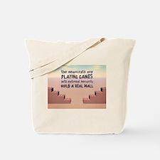Build A Real Wall Tote Bag