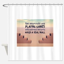 Build A Real Wall Shower Curtain