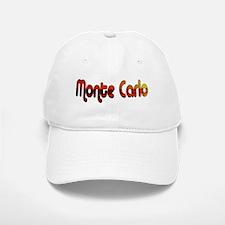 Monte Carlo Sunset Type Baseball Baseball Cap