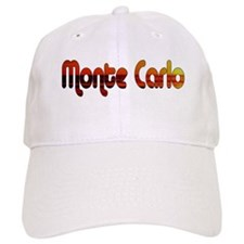 Monte Carlo Sunset Type Baseball Cap