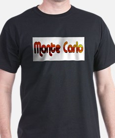 Monte Carlo Sunset Type T-Shirt