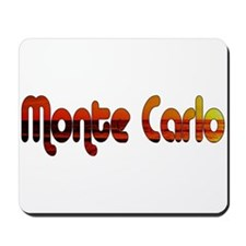 Monte Carlo Sunset Type Mousepad