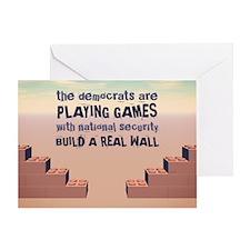 Build A Real Wall Greeting Card