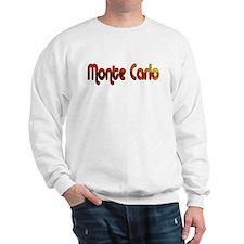 Monte Carlo Sunset Type Sweatshirt
