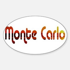 Monte Carlo Sunset Type (Dark Oval Decal