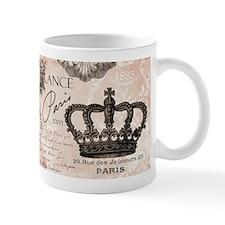 Modern Vintage French crown Mugs