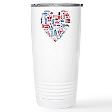 England World Cup 2014 Travel Coffee Mug