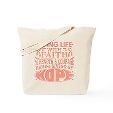 Uterine Cancer Faith Tote Bag
